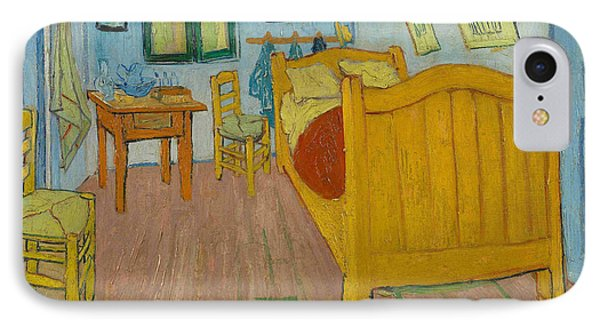 The Bedroom IPhone Case by Vincent Van Gogh