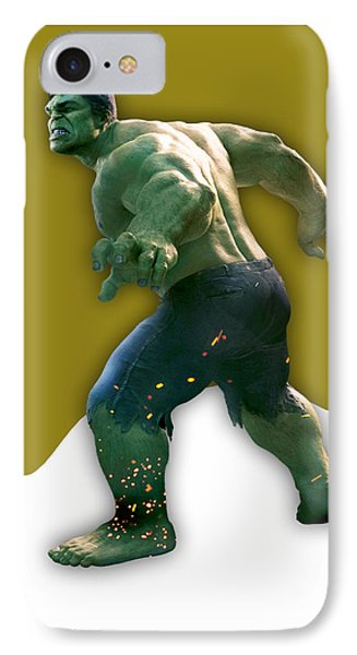 The Incredible Hulk Collection IPhone Case by Marvin Blaine