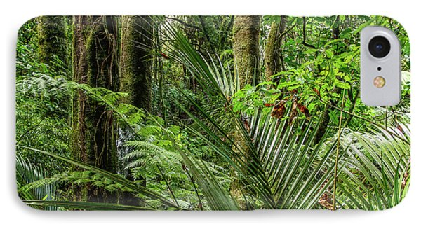 IPhone Case featuring the photograph Tropical Jungle by Les Cunliffe