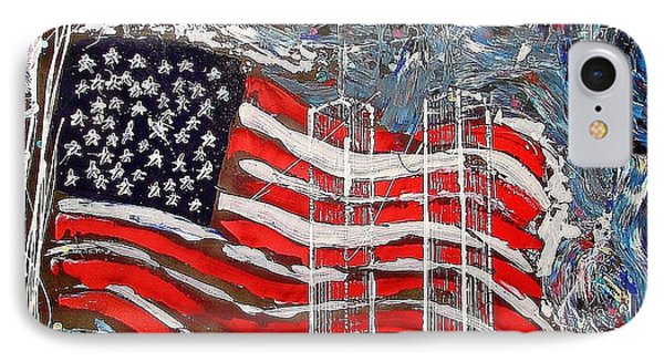 9/11 Tribute IPhone Case by J R Seymour