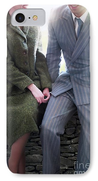 1940s Couple IPhone Case