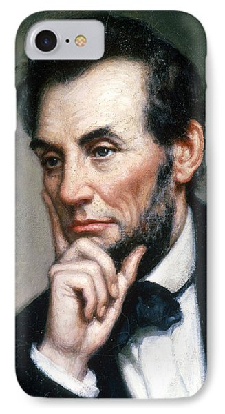 Abraham Lincoln 16th American President IPhone Case by Photo Researchers