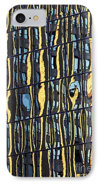 Abstract Reflection IPhone Case by Tony Cordoza