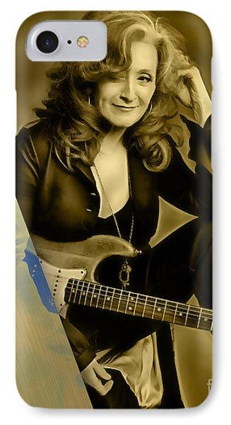 Bonnie Raitt Collection IPhone Case by Marvin Blaine
