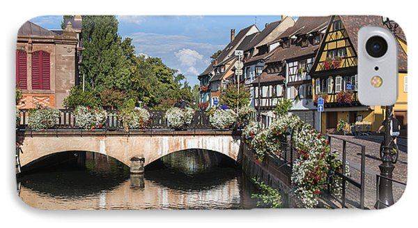 Canals Of Colmar IPhone Case by Yefim Bam