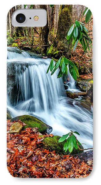 IPhone Case featuring the photograph Little Laurel Branch by Thomas R Fletcher