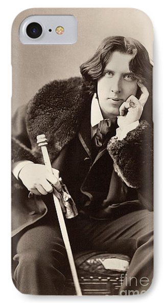 Oscar Wilde (1854-1900) Phone Case by Granger