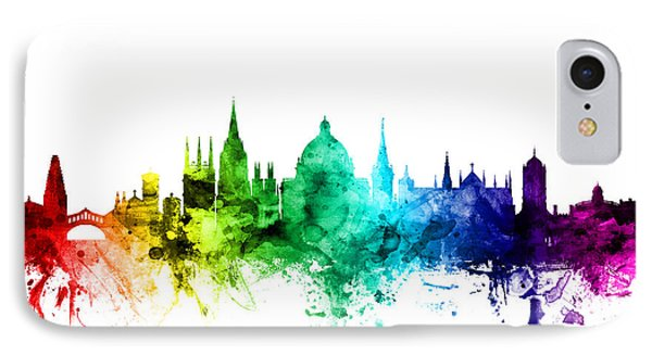 Oxford England Skyline IPhone Case by Michael Tompsett