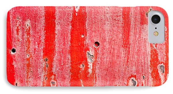 Red Metal IPhone Case by Tom Gowanlock