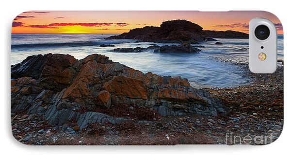 Second Valley Sunset IPhone Case by Bill  Robinson