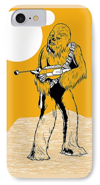 Star Wars Chewbacca Collection IPhone Case by Marvin Blaine