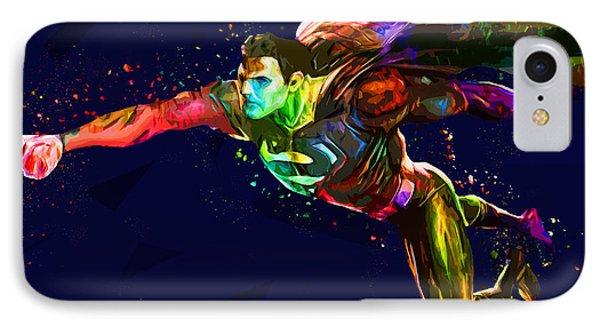 Superman Phone Case by Elena Kosvincheva
