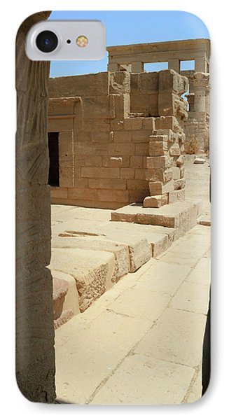 IPhone Case featuring the photograph temple of Isis by Silvia Bruno