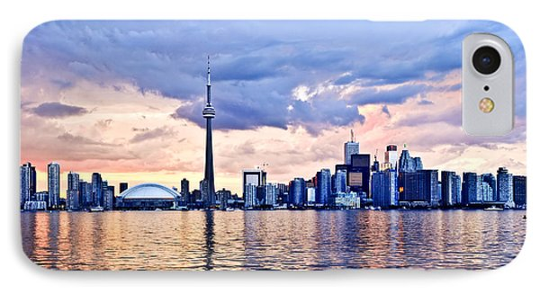 Toronto Skyline Phone Case by Elena Elisseeva