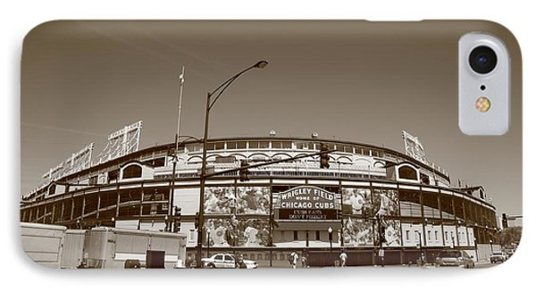 Wrigley Field - Chicago Cubs Phone Case by Frank Romeo