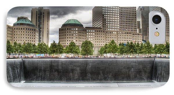 911 Memorial Hdr IPhone Case