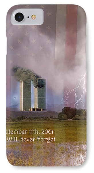 911 We Will Never Forget Phone Case by James BO  Insogna