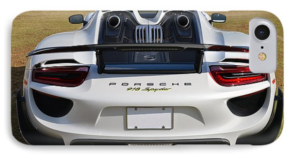 918 Spyder IPhone Case by Bill Dutting