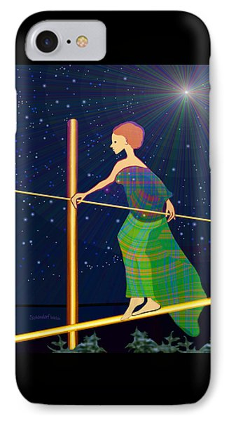 958  -   Balance   IPhone Case by Irmgard Schoendorf Welch