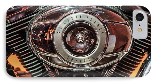 IPhone 7 Case featuring the photograph 96 Cubic Inches Softail by Randy Scherkenbach
