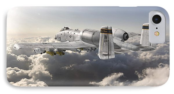 A-10 Thunderbolt II IPhone Case by David Collins