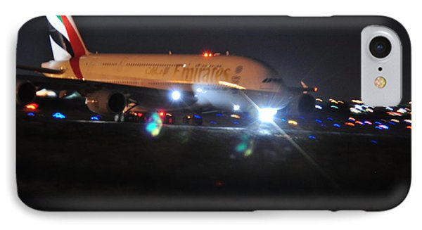 Emirates A380 IPhone Case by Puzzles Shum