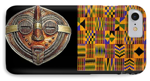 A  African Proverb IPhone Case by Jacqueline Lloyd