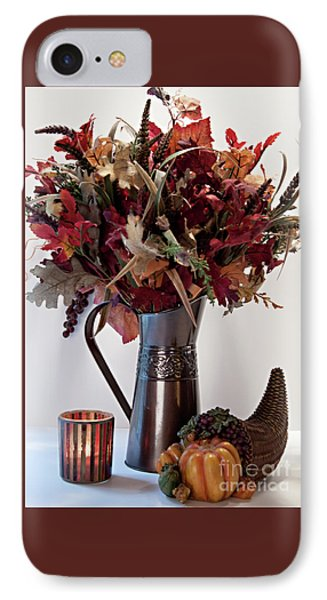 A Autumn Day IPhone Case by Sherry Hallemeier