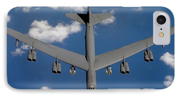 A B-52 Stratofortress IPhone Case by Stocktrek Images