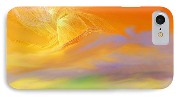 A Band Of Angels Coming After Me Phone Case by David Lane