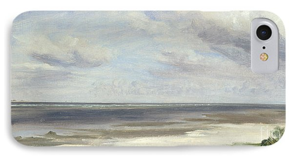 A Beach On The Baltic Sea At Laboe Phone Case by Jacob Gensler