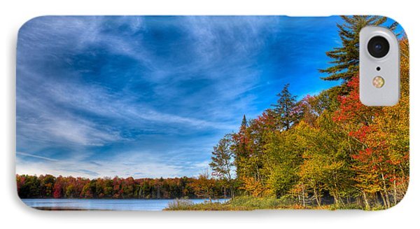 A Beautiful Autumn Day On West Lake IPhone Case