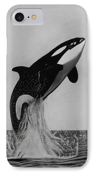 Orca - The Joy Of Freedom IPhone Case