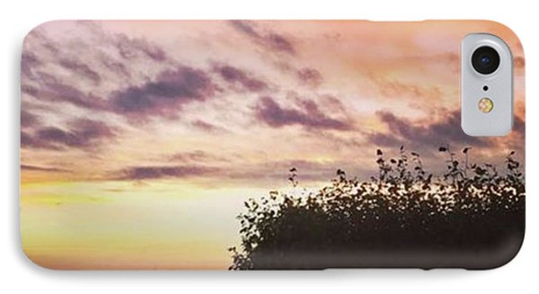 A Beautiful Morning Sky At 06:30 This IPhone Case by John Edwards