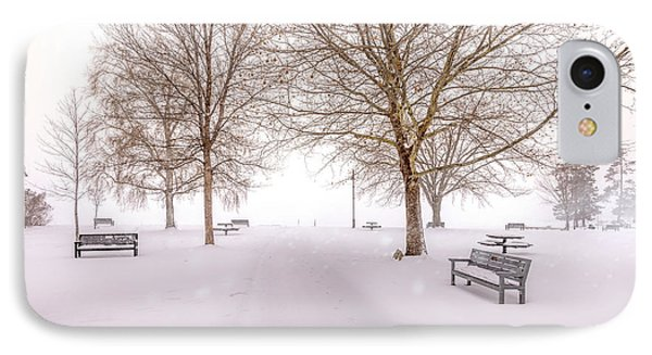 A Beautiful Winter's Morning  IPhone Case by John Poon