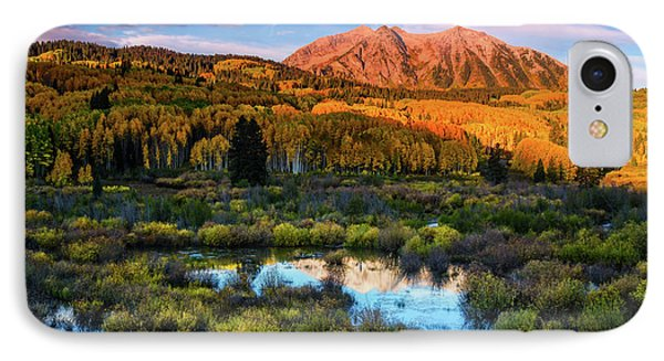 IPhone Case featuring the photograph A Beckwith Morning by John De Bord