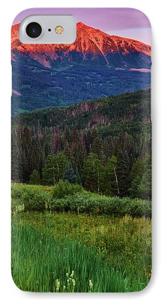 IPhone Case featuring the photograph A Beckwith Sunrise by John De Bord