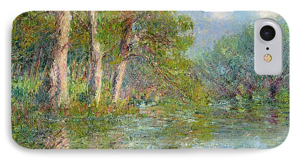 A Bend In The Eure Phone Case by Gustave Loiseau