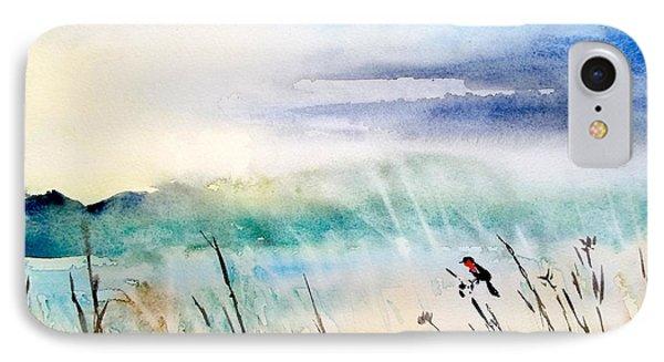 A Bird In Swamp IPhone Case by Yoshiko Mishina