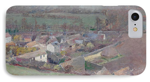 A Bird's-eye View IPhone Case by Theodore Robinson