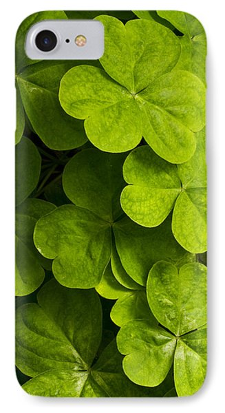 A Bit Of Green IPhone Case by Carrie Cranwill