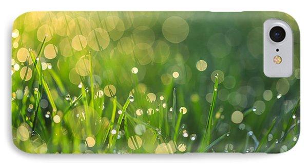 A Bit Of Green IPhone Case by Rachel Cohen