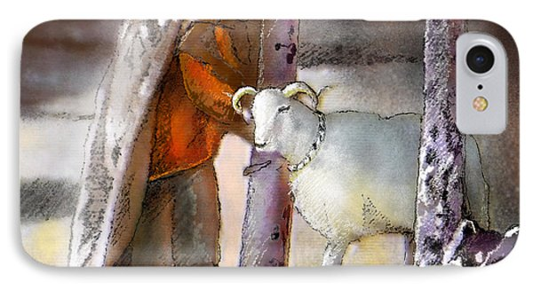 A Blessed Eid IPhone Case by Miki De Goodaboom