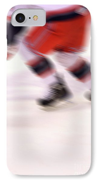 A Blur Of Ice Speed Phone Case by Karol Livote