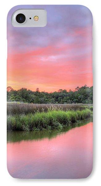A Bon Secour Sunset V IPhone Case
