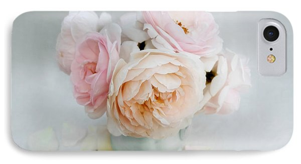 A Bouquet Of June Roses IPhone Case by Louise Kumpf