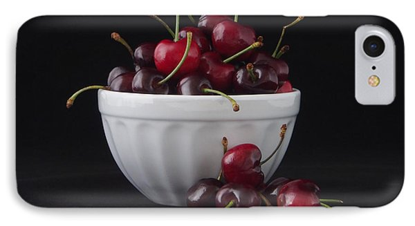 A Bowl Full Of Cherries IPhone Case