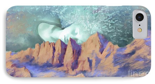 IPhone Case featuring the painting A Breath Of Tranquility by S G