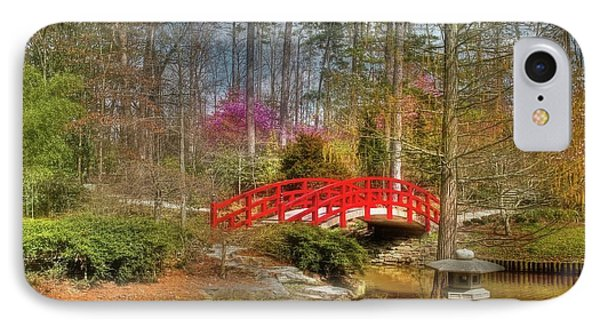A Bridge To Spring Phone Case by Benanne Stiens