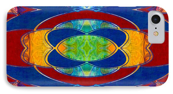 A Brisk Imagination Abstract Bliss Art By Omashte IPhone Case